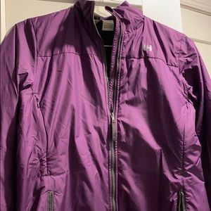 Purple light weight Helly Hansen jacket